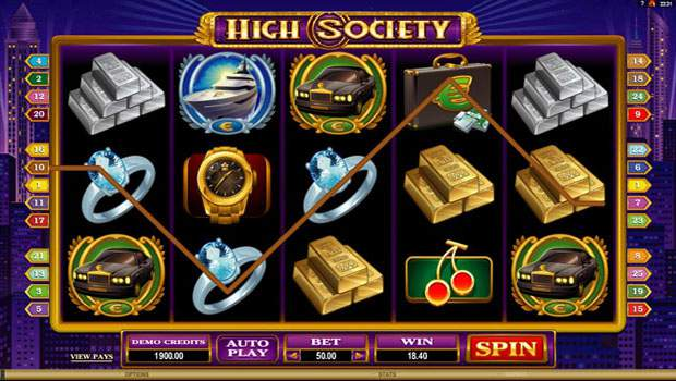 High Society Free Slots Review 1