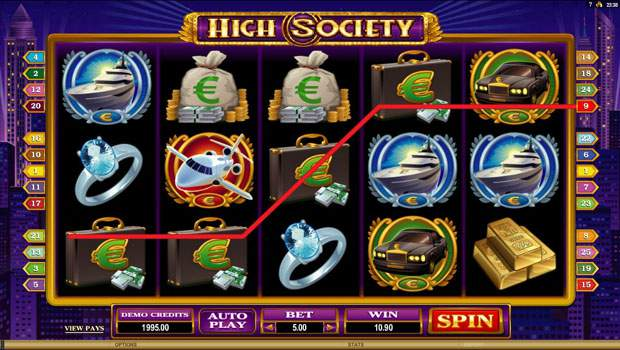 High Society Free Slots Review 2
