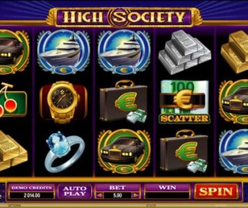 High Society Slot Review & Free to Play Online Casino Game