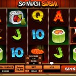 So Much Sushi Free Slots Featured
