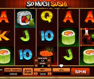 So Much Sushi Slot Review & Free Instant Play Casino Game
