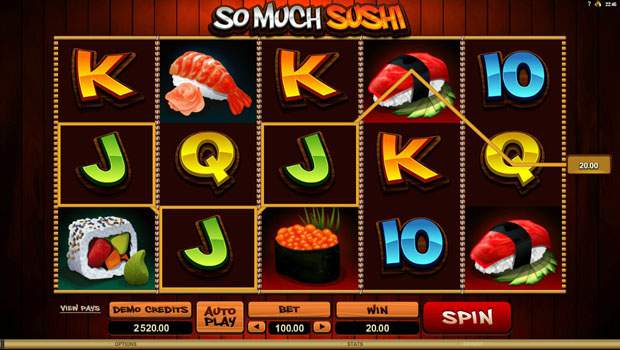 So Much Sushi Free Online Slots Review 1