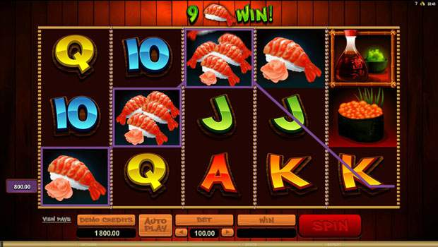 So Much Sushi Free Online Slots Review 2