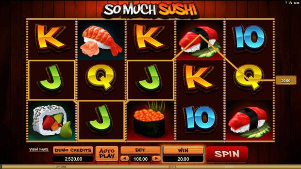 So Much Sushi Free Online Slots Review 3