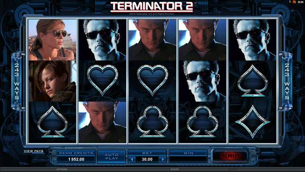 Terminator 2 Free Slots Review 1