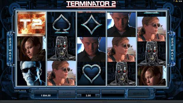 Terminator 2 Free Slots Review 2