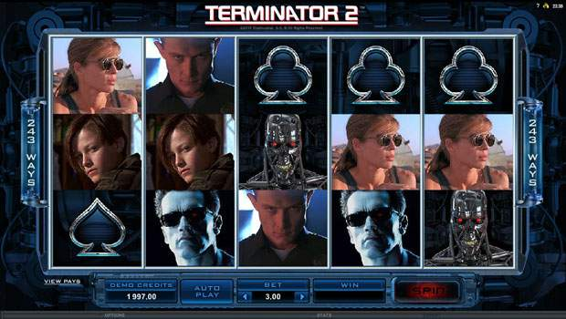 Terminator 2 Free Slots Review 3