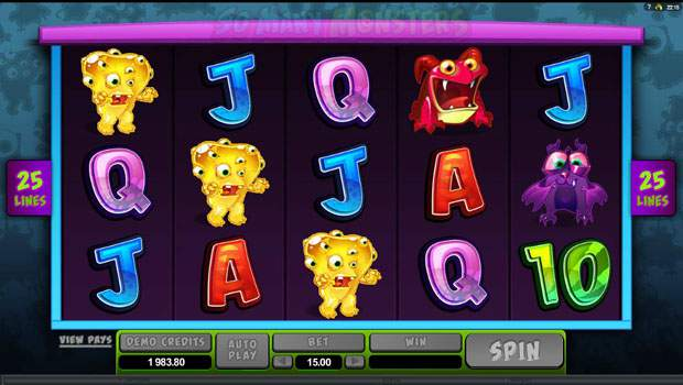 So Many Monsters™ Slot Machine Game to Play Free in Microgamings Online Casinos